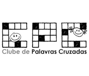 Clube de Palavras Cruzadas logo sem desenhos quadrado