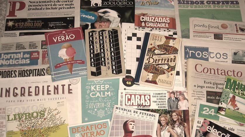 Livros e Revistas dos 25 anos de palavras cruzadas