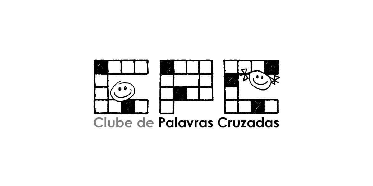 Clube de Palavras Cruzadas logo - com desenhos|Clube de Palavras Cruzadas logo - com desenhos