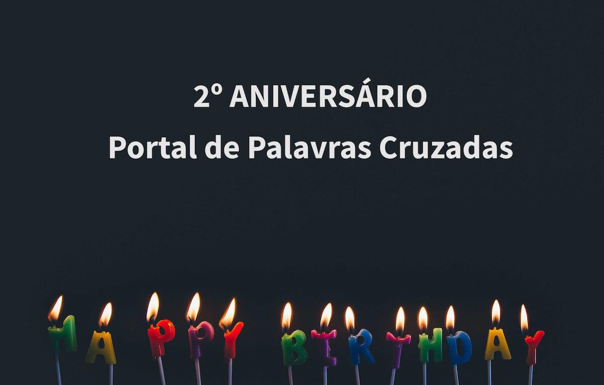 2 Aniversario Portal Palavras Cruzadas|