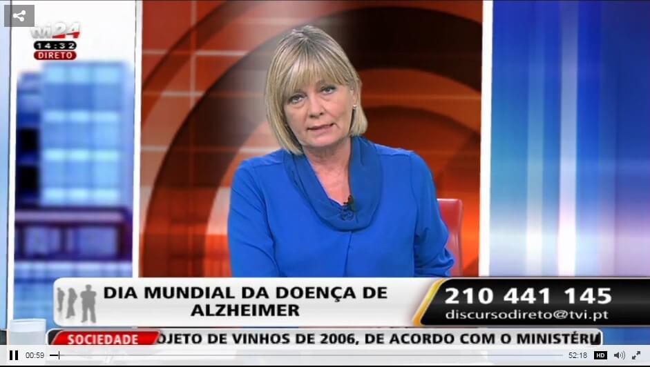 TVI24 Discurso Directo Palavras Cruzadas Alzheimer