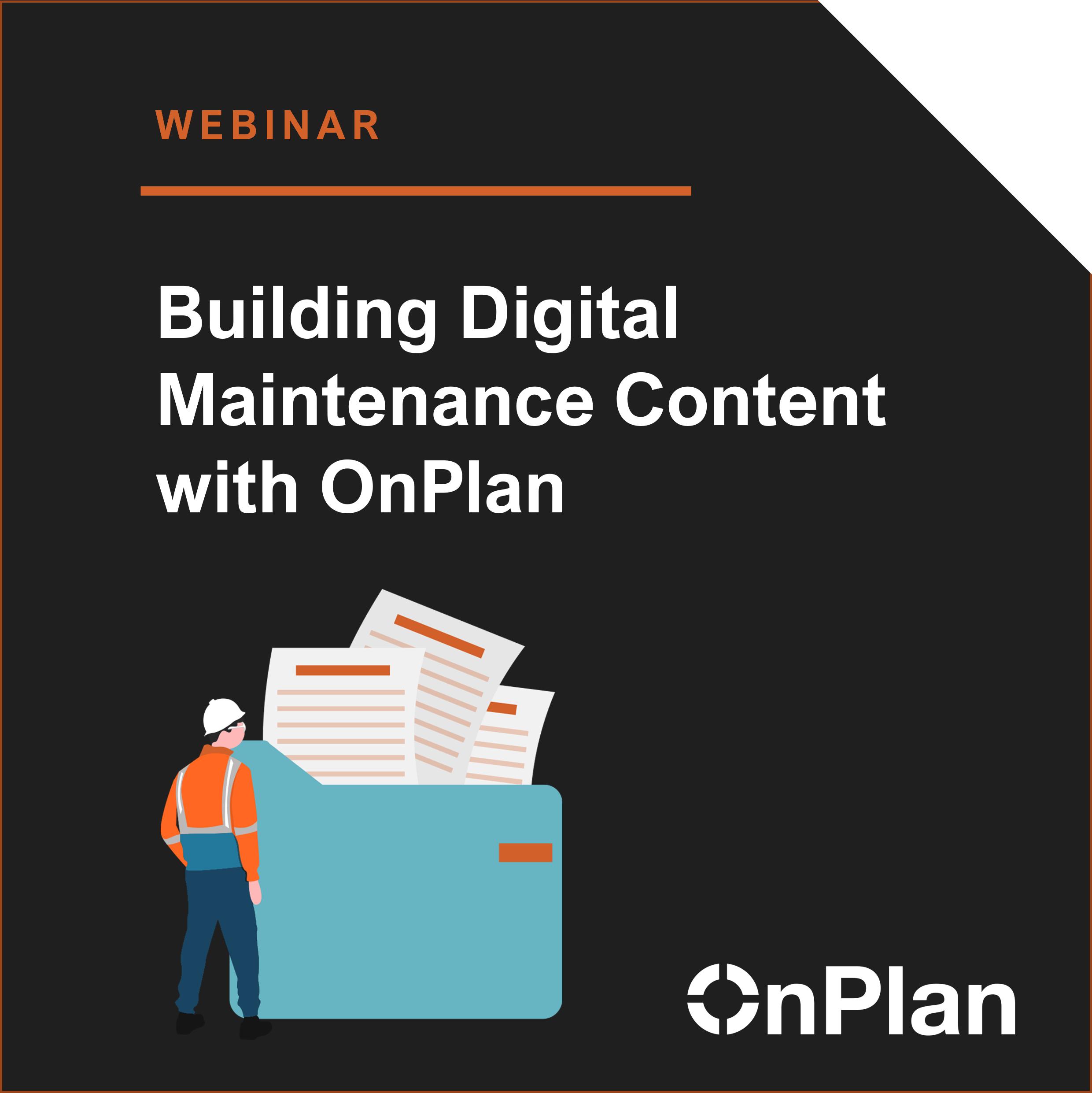OnPlan digital asset management software overview.