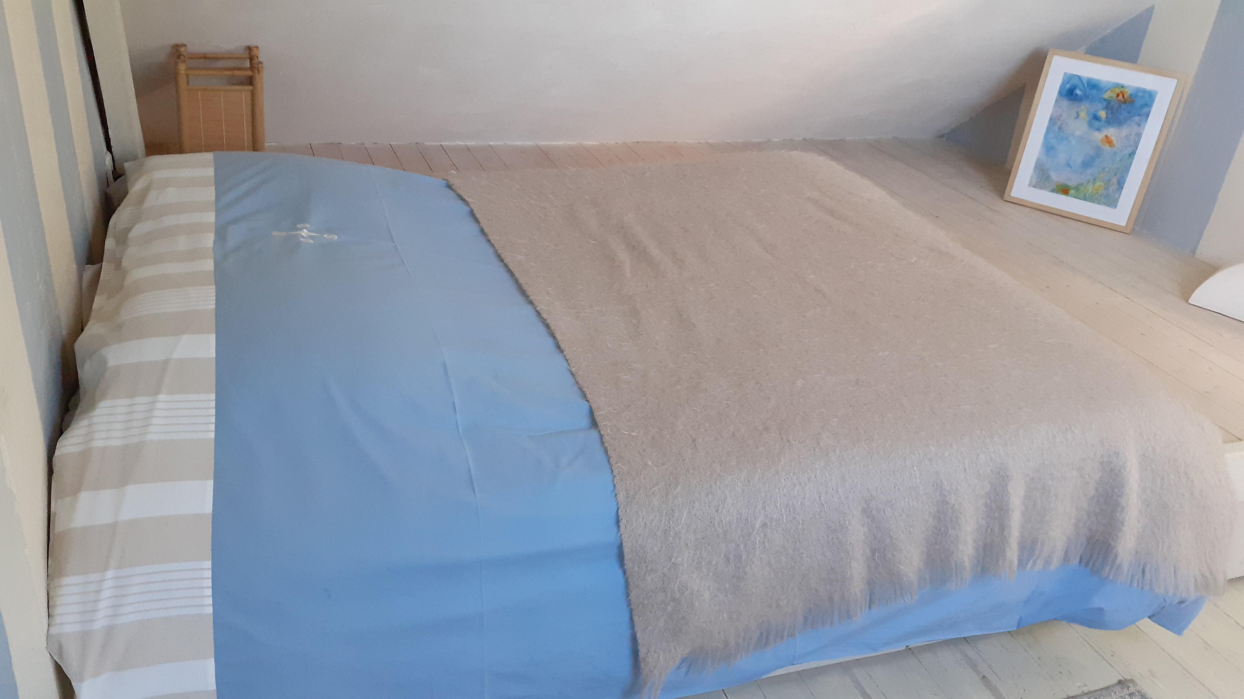 Le lit de la chambre océane