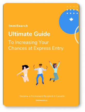 The ultimate guide to express entry in Canada eBook cover