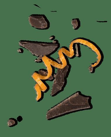 Bild på chokladbitar.