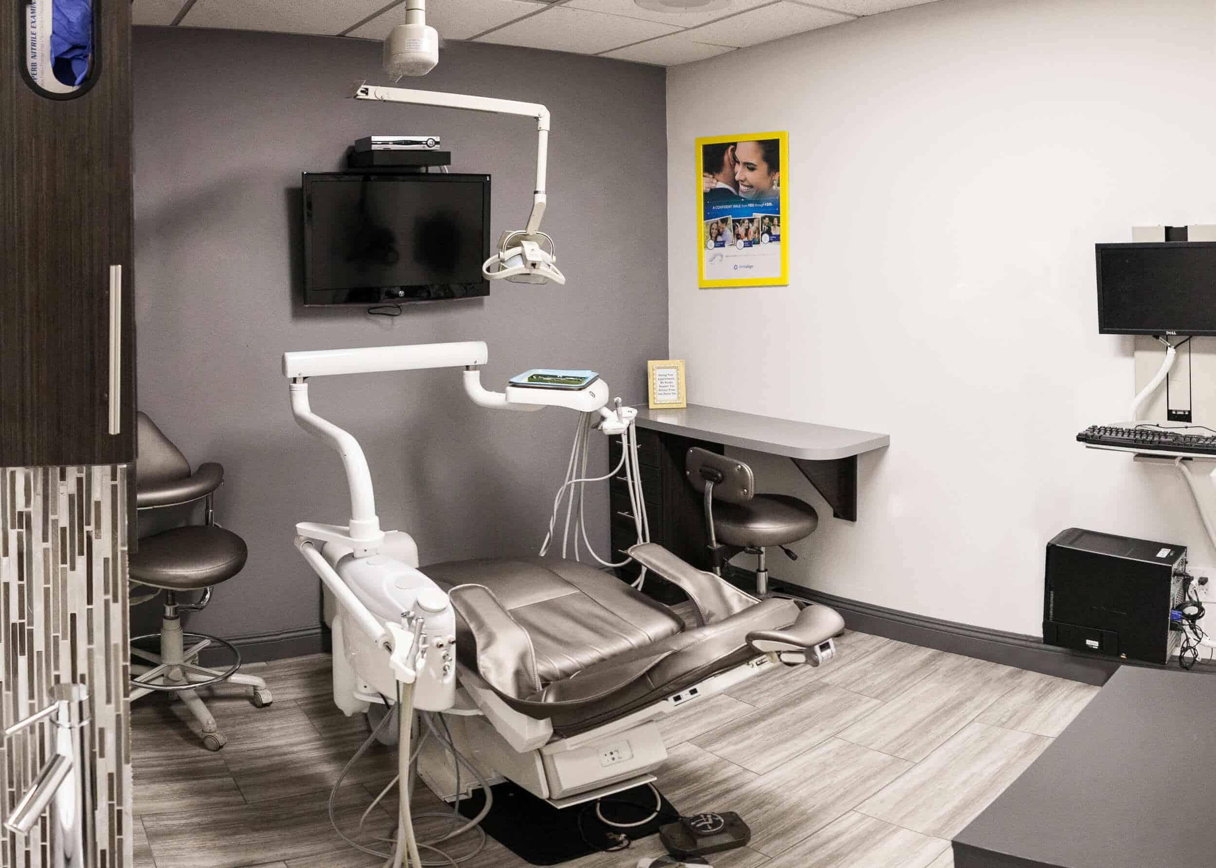 procedure room for dental patients