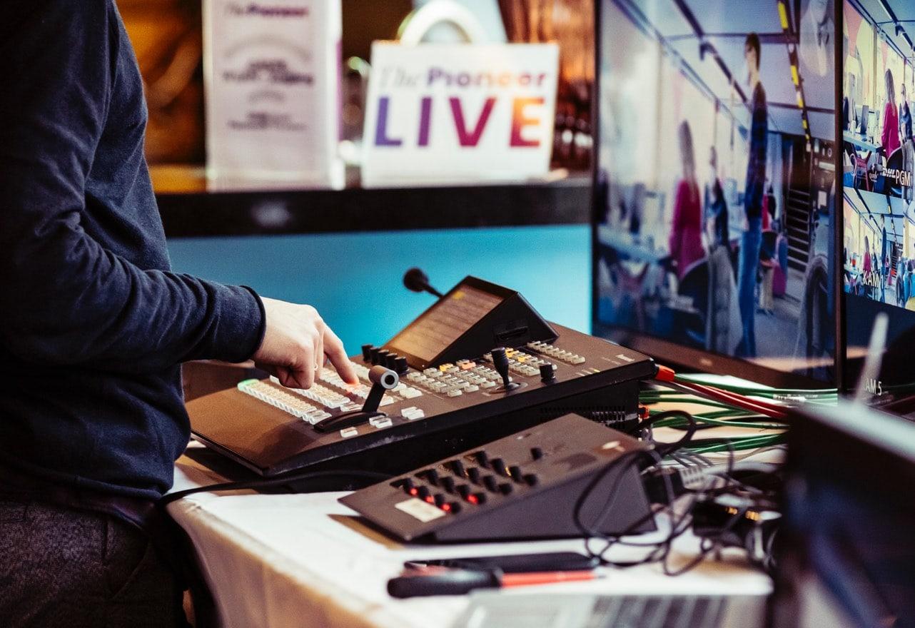 Technische Geräte an Board des Redaktionsschiffes