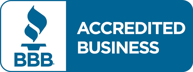 Logo of Better Business Bureau with a link to the Better Business Bureau page of Action Appliance