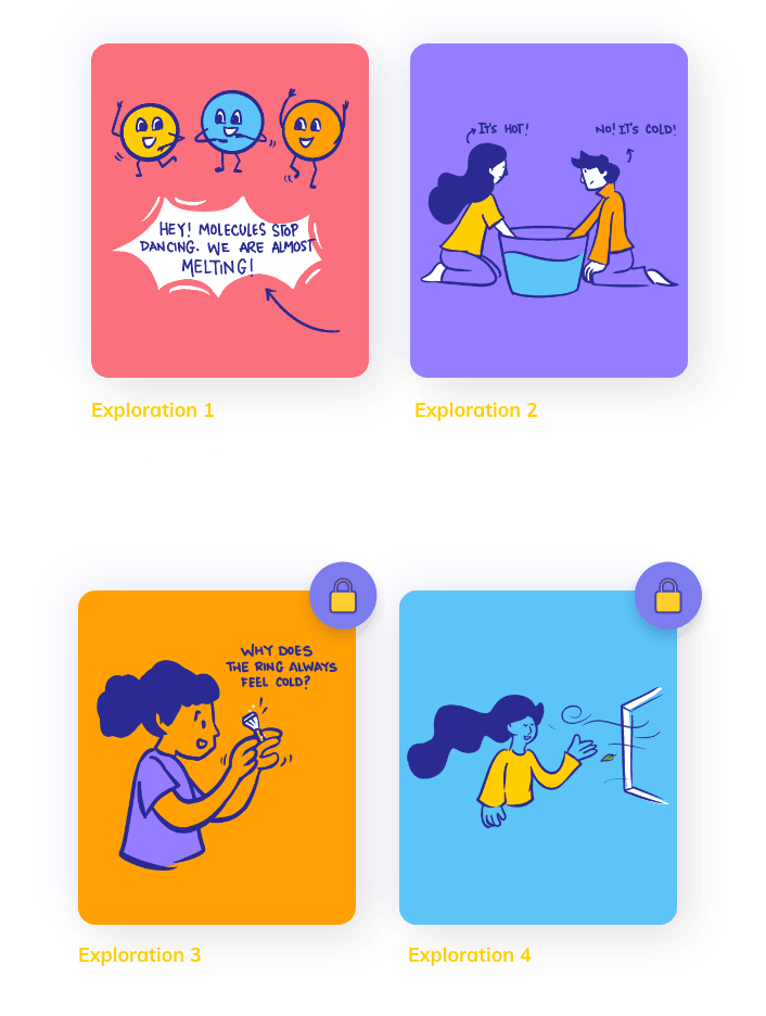experiment cards