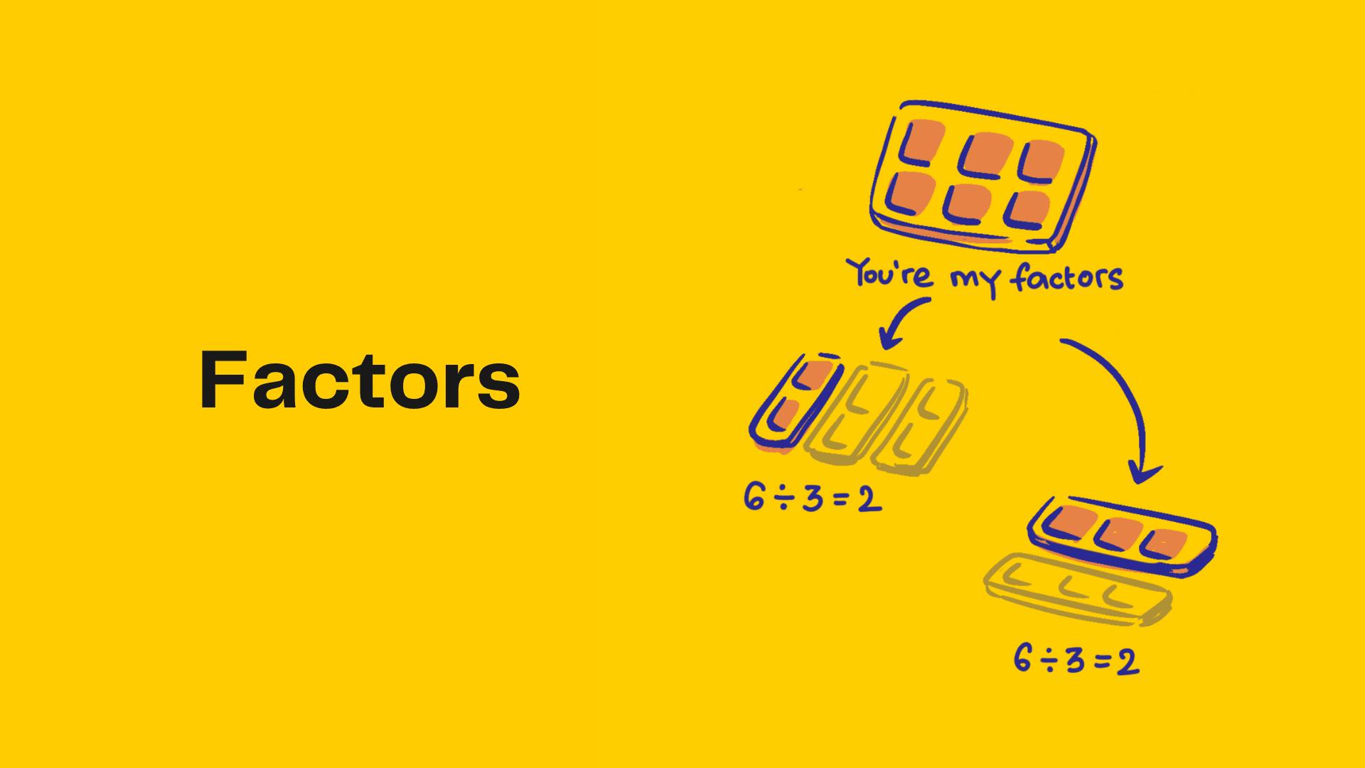 Factors poster