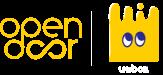 Open Door Unbox interlocked logo