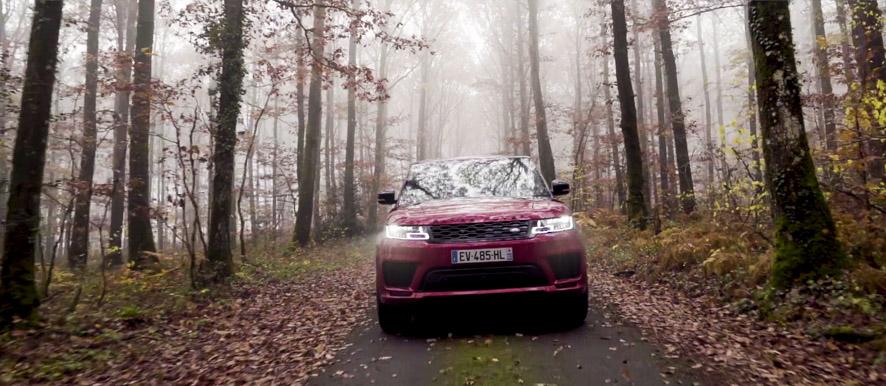 Vidéo professionnelle Land Rover par Stevens Frémont