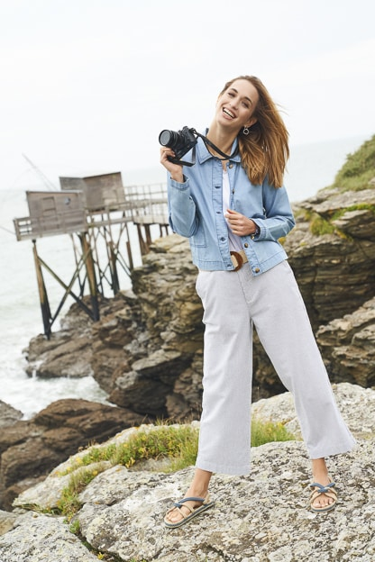 photo mode bord de mer vêtement femme catalogue mode