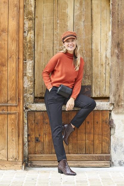 Photo extérieur mode femme pour catalogue professionnel mode