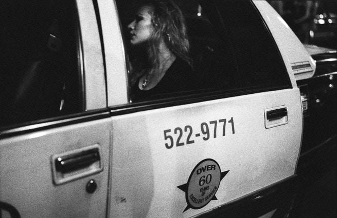 Photo professionnelle mise en valeur de produit et marque, photo d'un taxi à la Nouvelle Orléans en noir et blanc par Stevents Frémont photographe professionnel