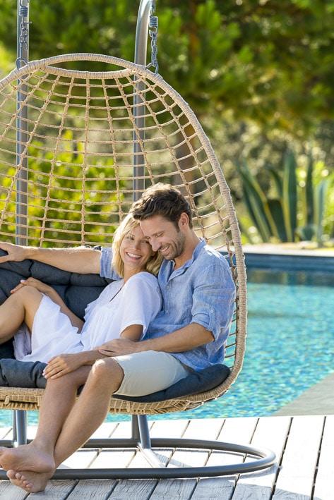 Photos professionnelles canapé extérieur piscine - outdoor