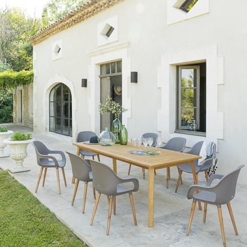 Photos professionnelles table à manger jardin extérieur - outdoor