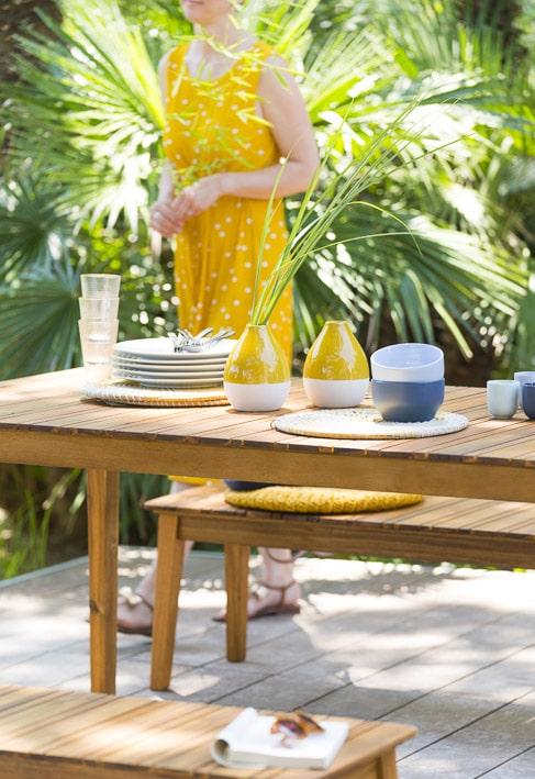 Photos professionnelles table et décoration extérieur - outdoor