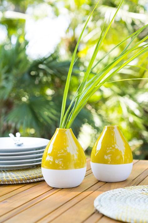 Photos professionnelles décoration extérieur vase - outdoor