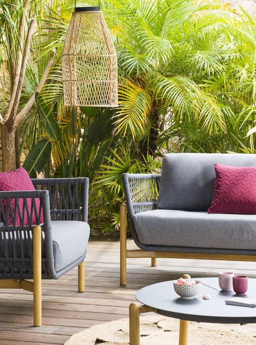Photos professionnelles canapé pour jardin extérieur - outdoor