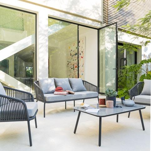 Photos professionnelles canapé véranda extérieur - outdoor