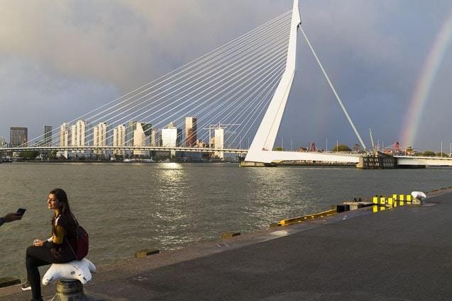 Photo professionnelle de voyage, réalisation Stevens Frémont photographe professionnel voyage Rotterdam photo d'un pont