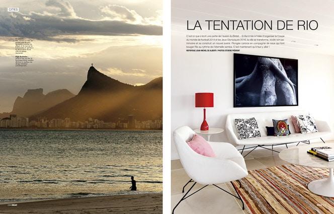 Photo professionnelle de voyage, réalisation Stevens Frémont photographe professionnel voyage magazine Ideat Rio de Janeiro Brésil