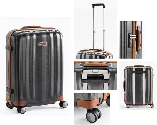 Photographies professionnelles pour les marques, photo produit valise Samsonite par Stevens Frémont photographe professionnel