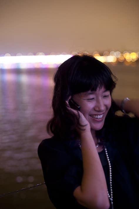 Photo mode professionnelles réalisation par un professionnel, publicité Samsung Séoul par Stevens Frémont photographe professionnel