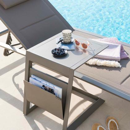 Photo mobilier de jardin pour catalogue professionnel