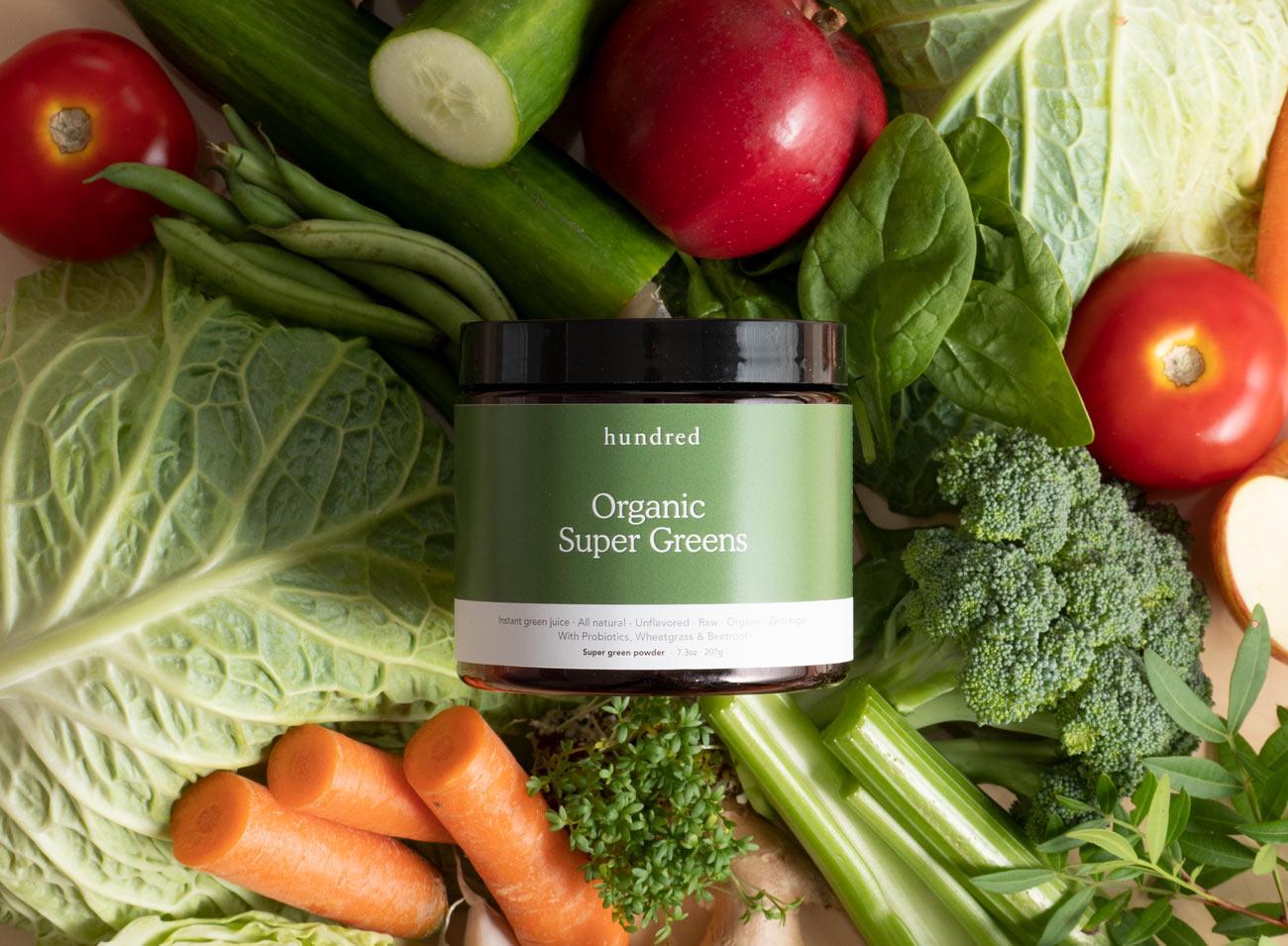 Organic green supplement