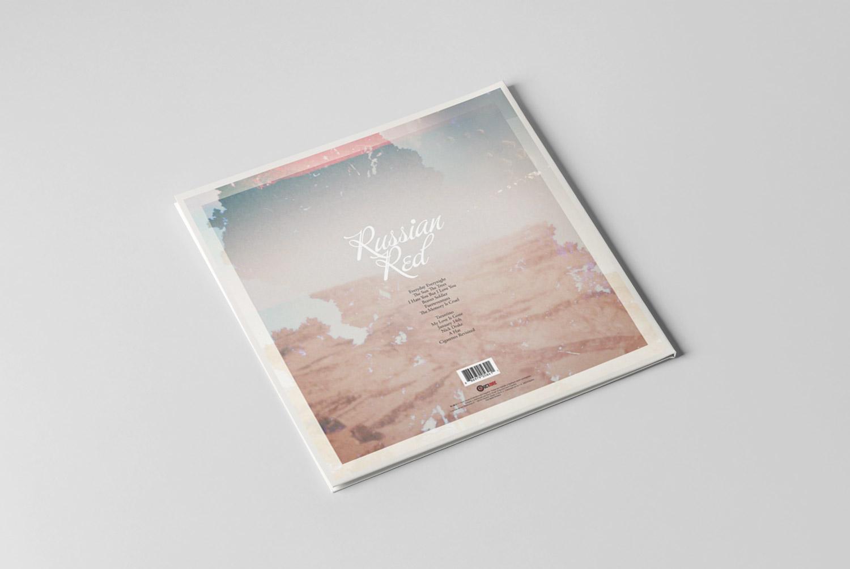 Russian Red Fuerteventura vinyl, design by Diego Delgado