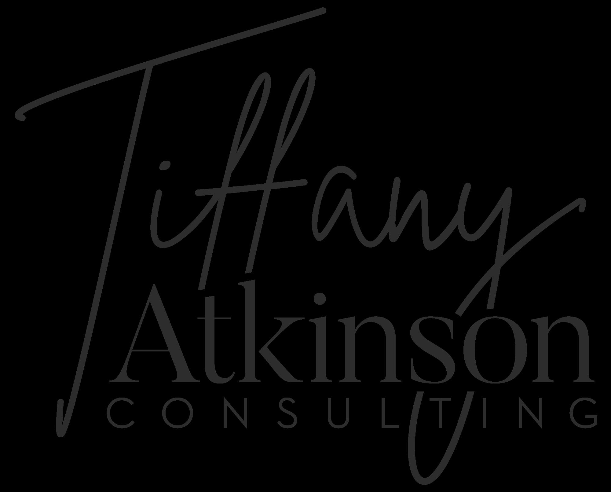 Tiffany Atkinson Consulting Logo | Brand Coach & Consultant For Women | tiffanyatkinson.com