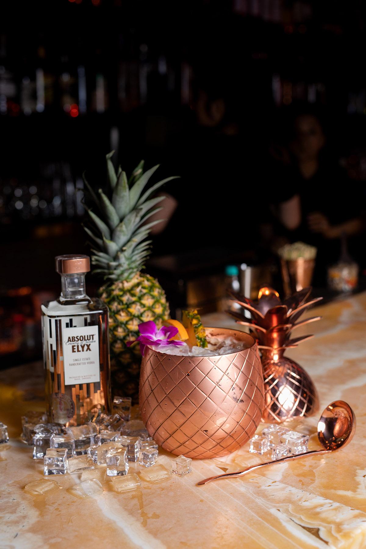 Elyx Pineapple Punchbowl for 4