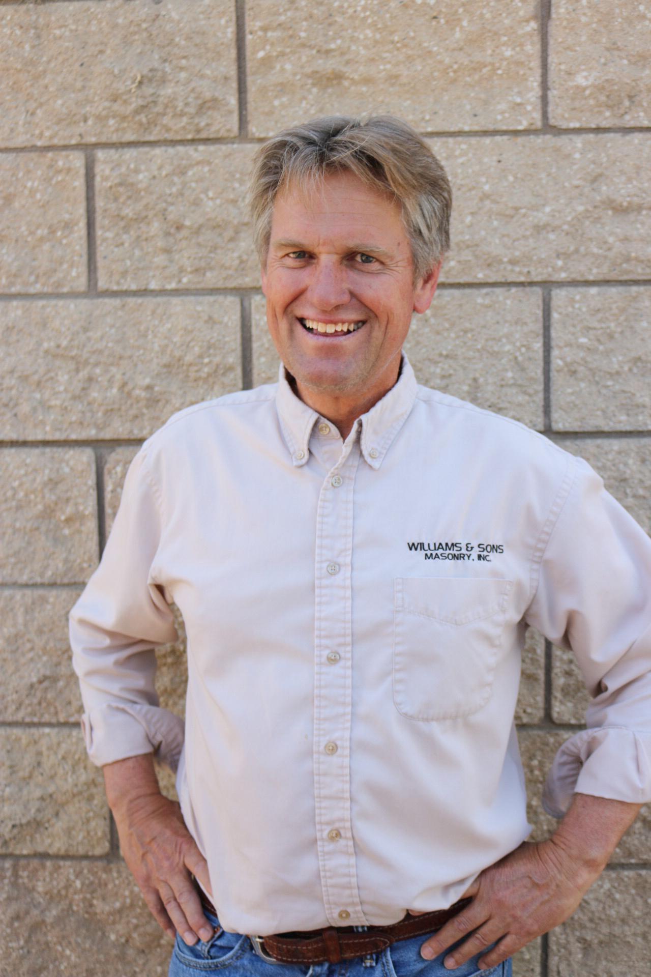 Todd Williams, President of Williams & Sons Masonry