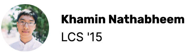 Khamin Nathabheem LCS '15