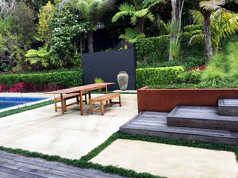 Landscaped swimming pool 2