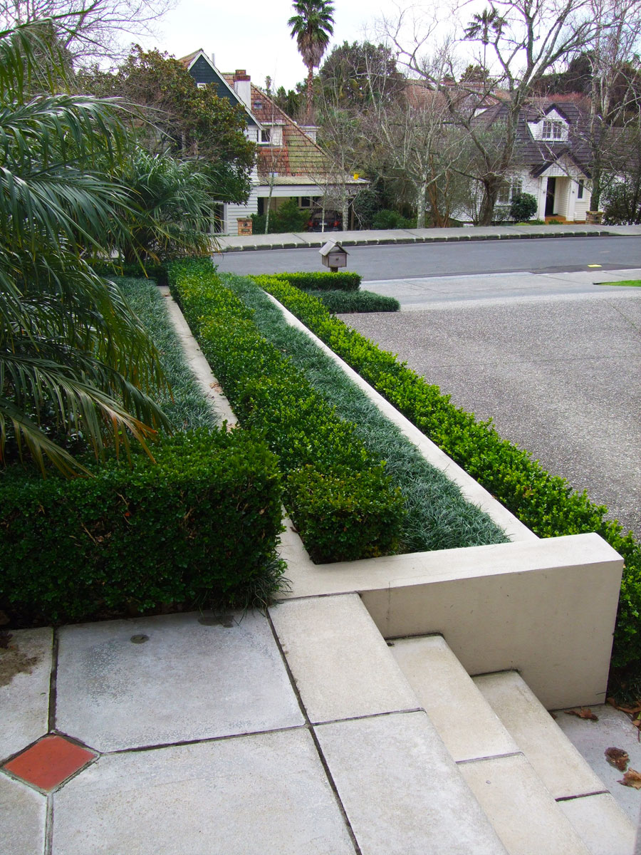 Planted terrace
