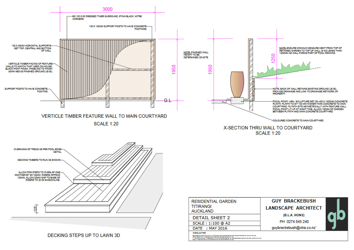 Cross-Section / Detail Page