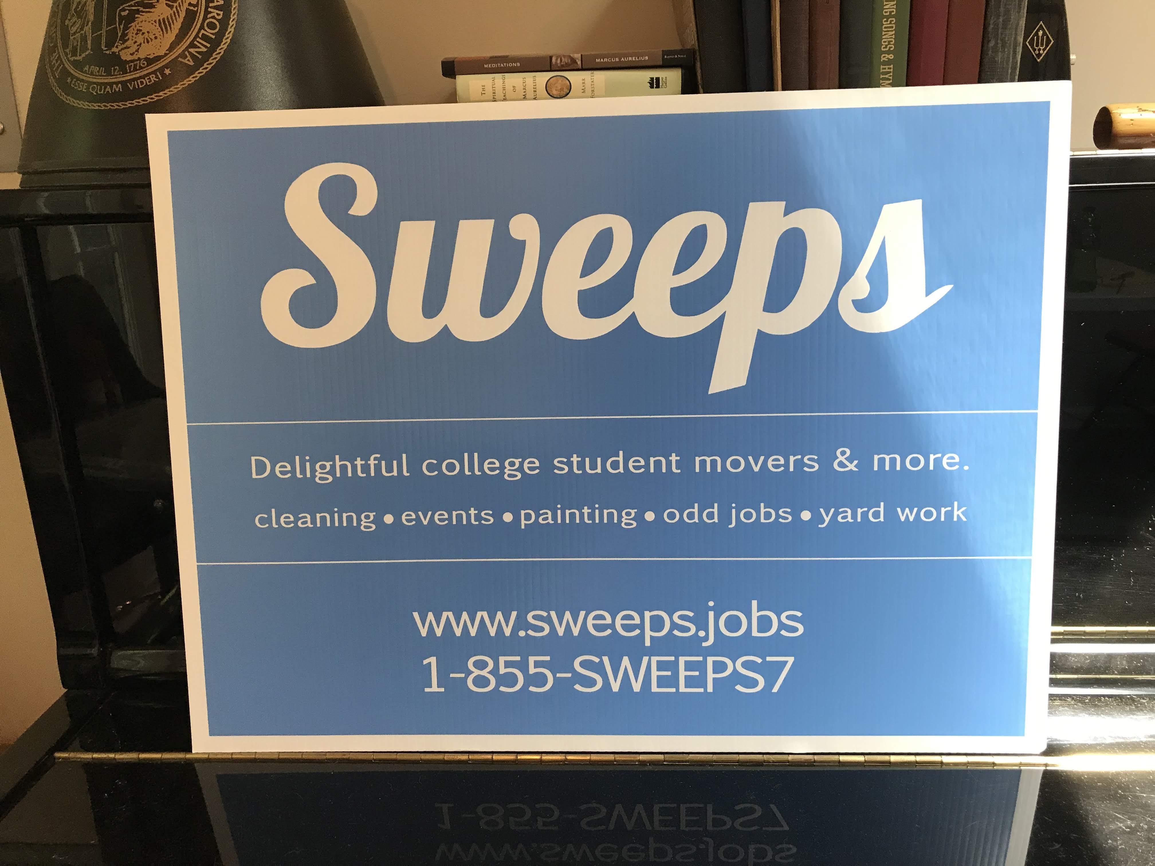 Sweeps Yard Sign