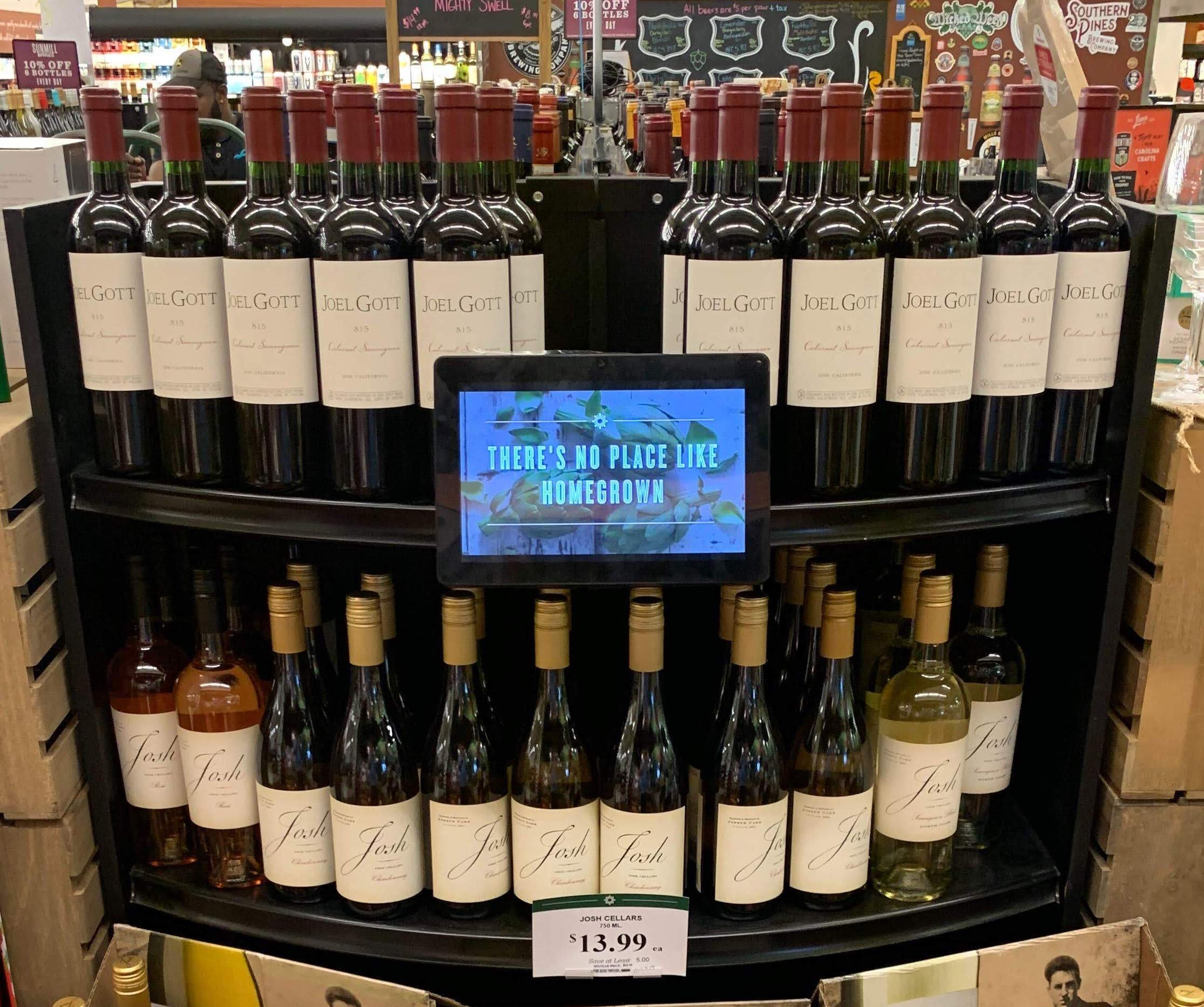 Grocery Store Tablet Installations