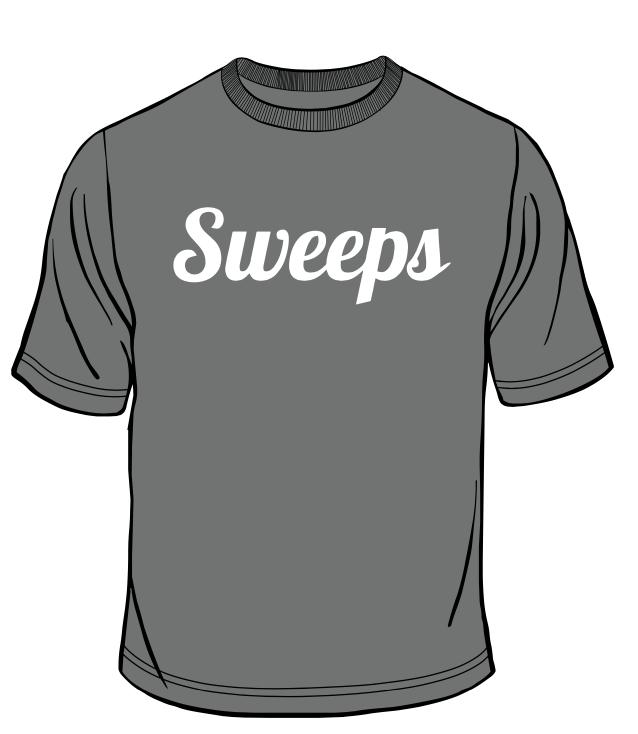 Sweeps Grey T-Shirt