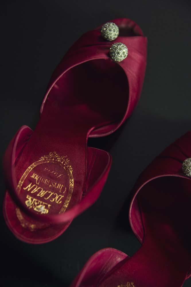 Exposition Dior en roses