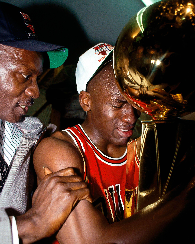 Michael Jordan et son père