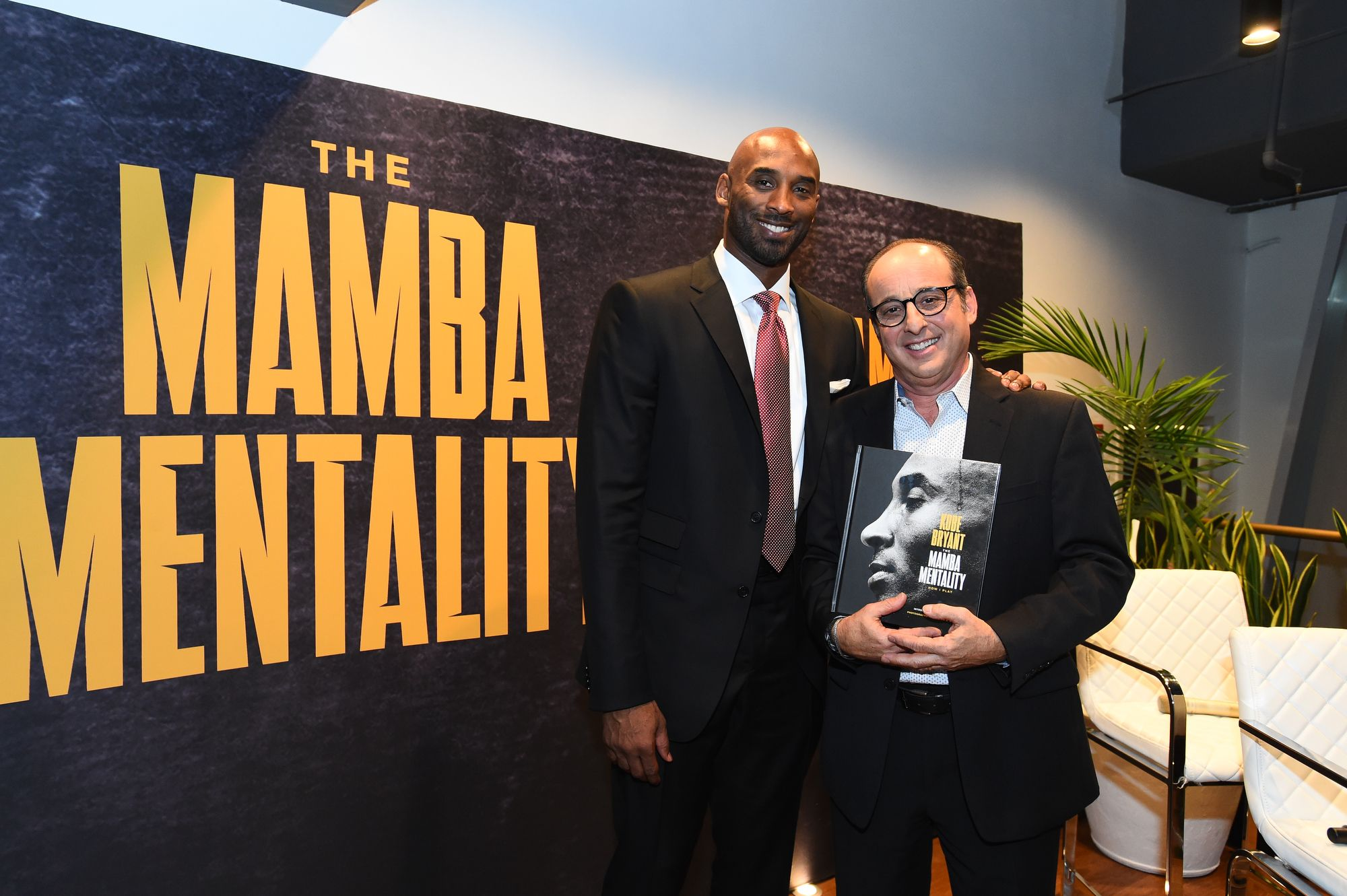 Andrew Bernstein et Kobe Bryant