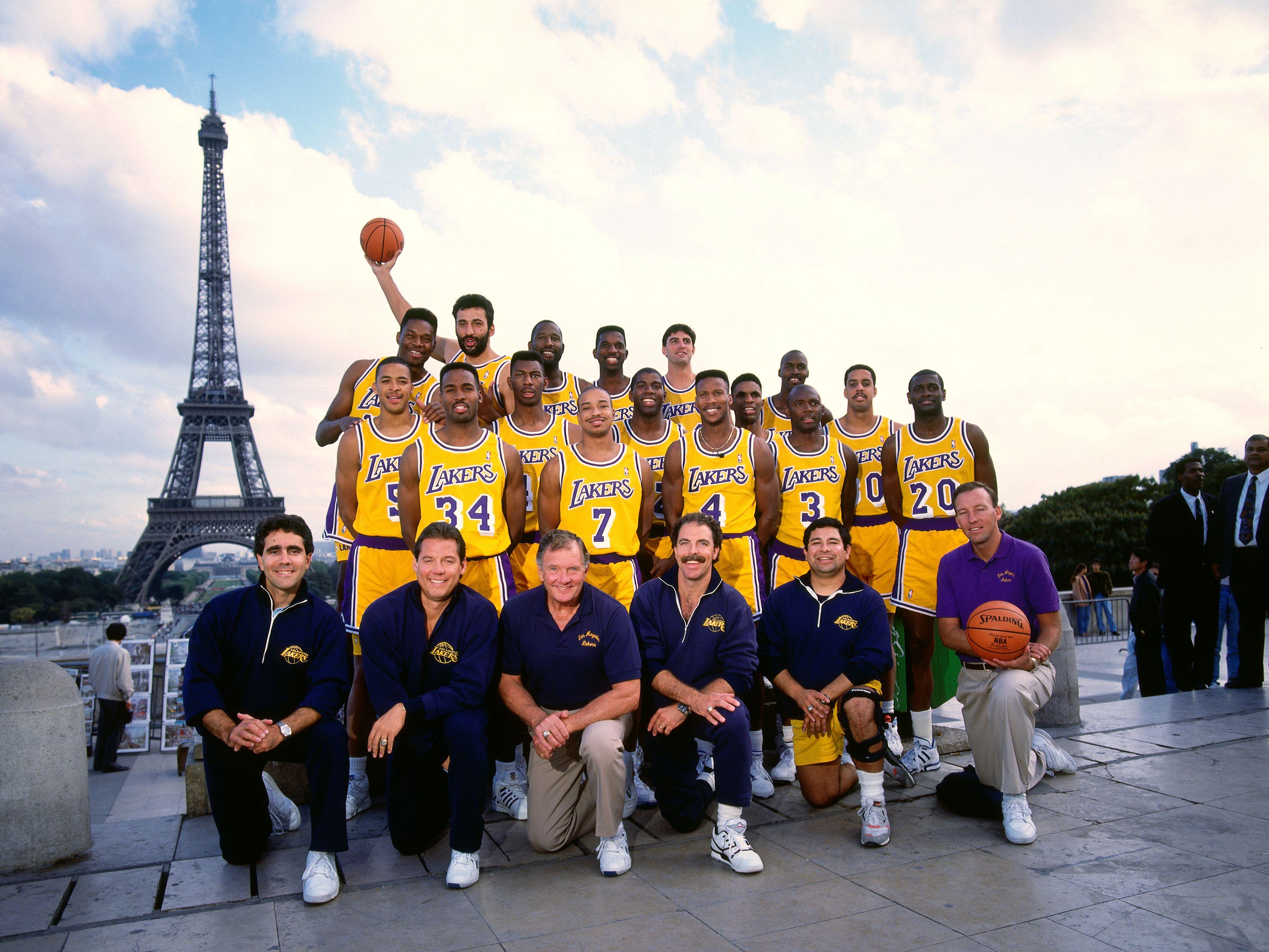 Lakers à Paris