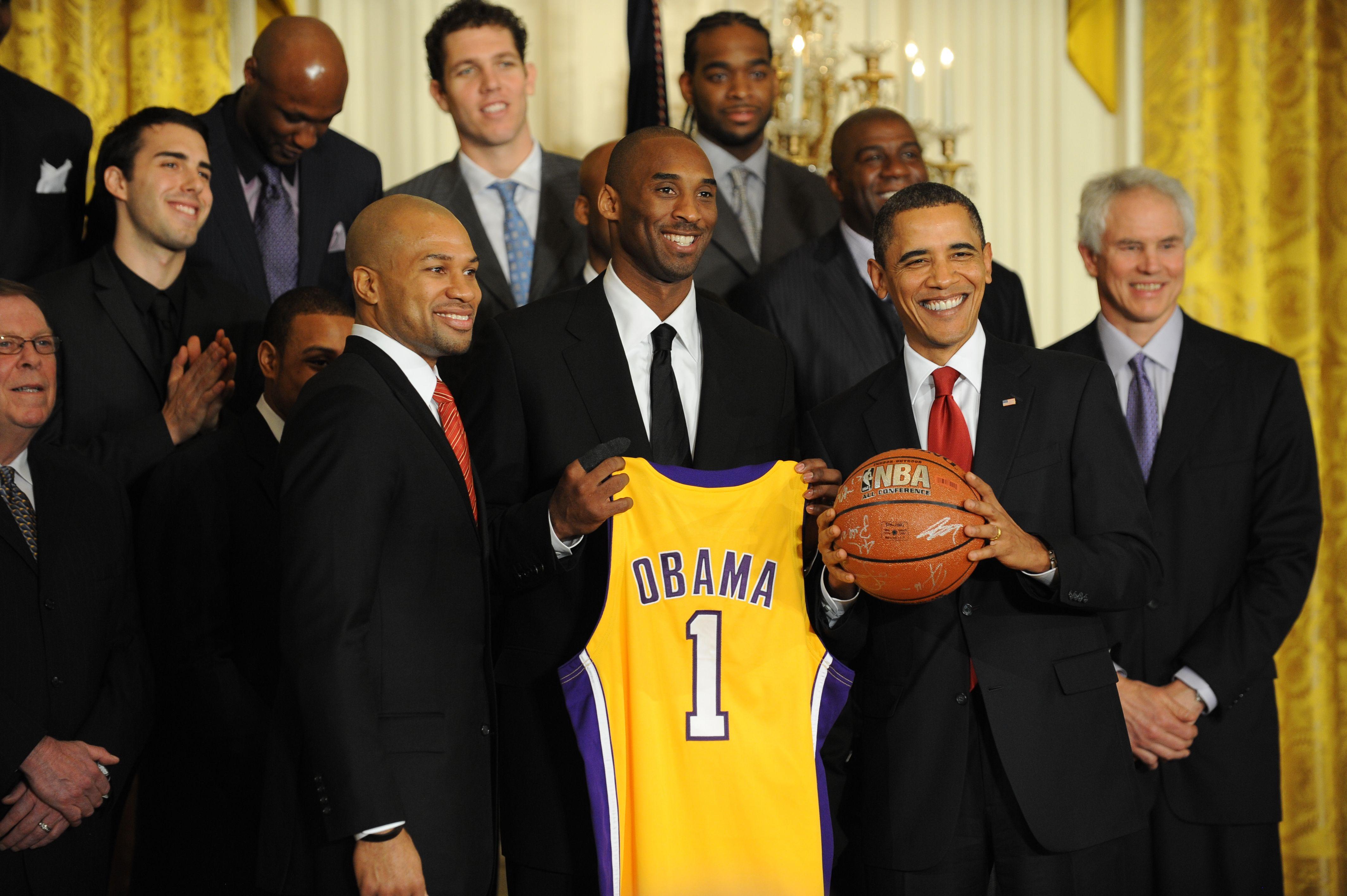 Kobe Bryant et Barack obama