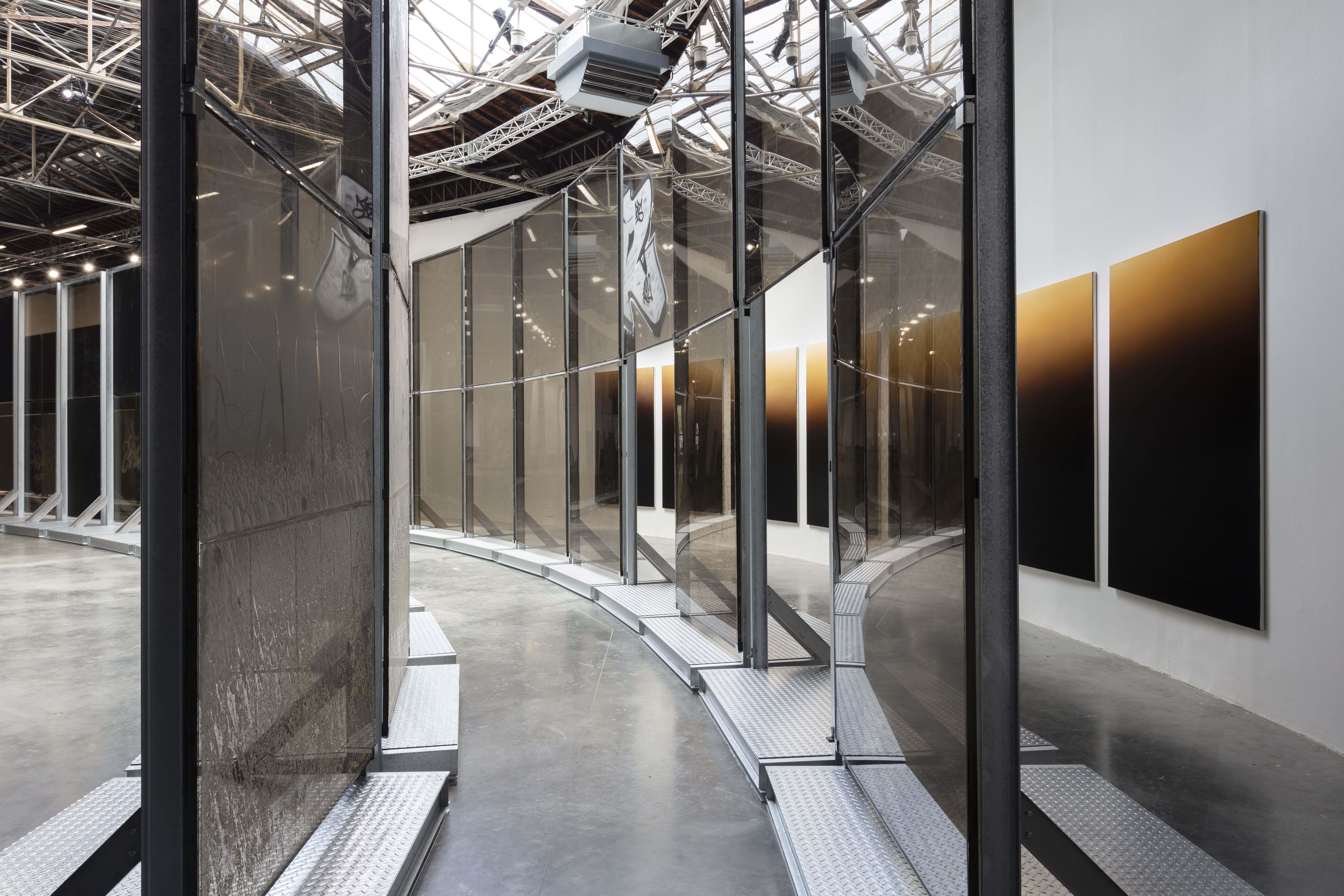 vue de l'exposition Anne Imhof