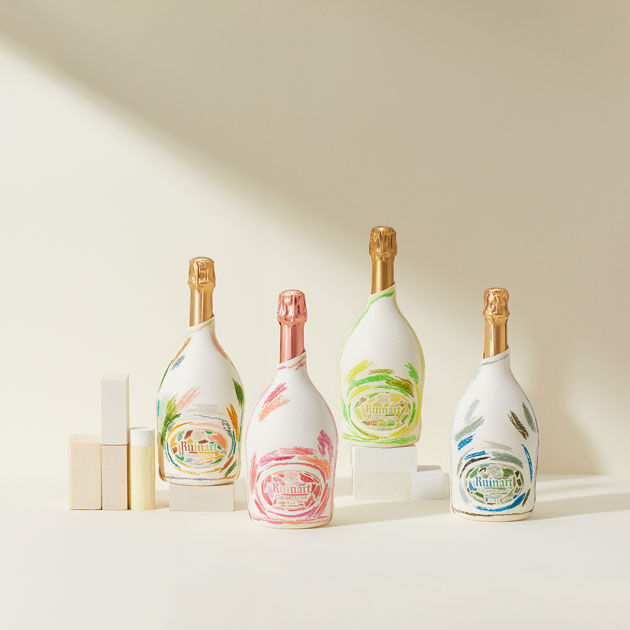 champagne ruinart bouteilles