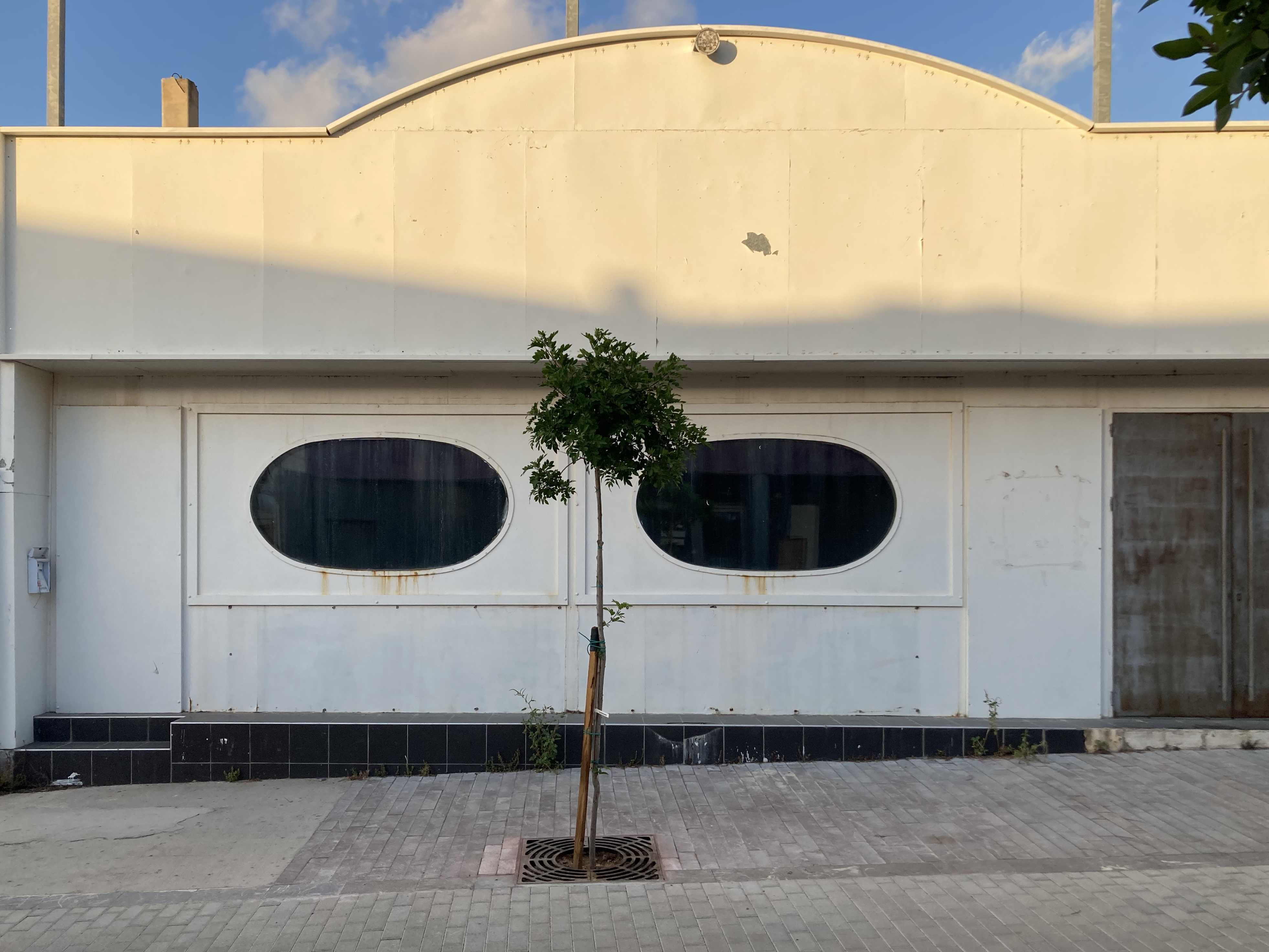 bâtiment délabré Malia
